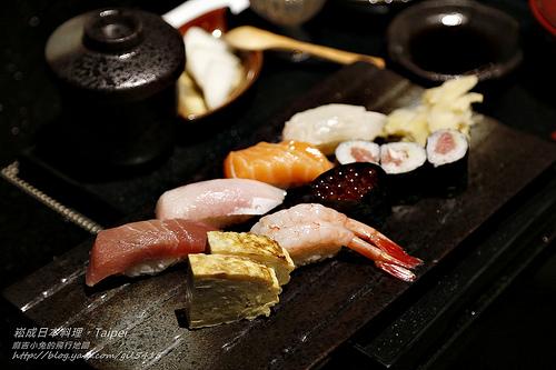 【台北。崧成日本料理】不用飛日本,台北也能品嚐的日本道地精緻美味。高檔日料午餐超值吃!