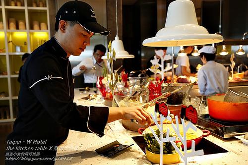 台北W飯店。泰國美食節