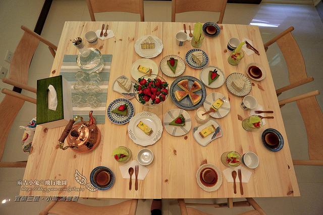 宜蘭三星民宿【小滿。滿豐盈】&羅東【禮物咖啡】用甜點打造幸福的魔法師(三星洛克馬)